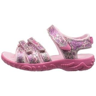 Kids Teva Girls Tirra Buckle Ankle Strap Gladiator Sandals