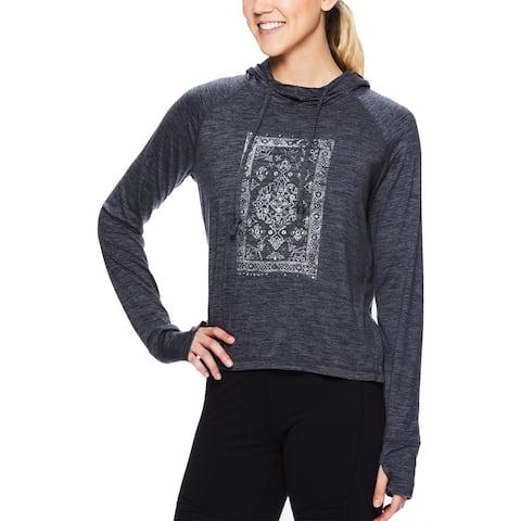 Gaiam Womens Hoodie Sweatshirt Tapestry - XS