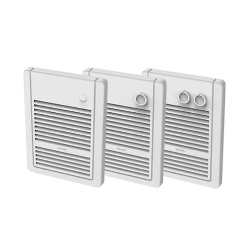 """12.25"""" White Wall Heater Insert Style Without Control 2000W, 240V"""
