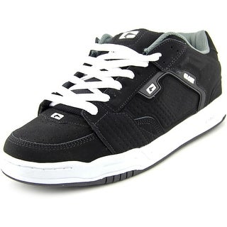 Globe Scribe Men Round Toe Leather Black Skate Shoe