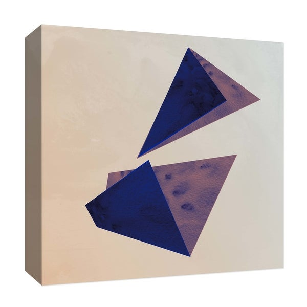 "PTM Images 9-126888 PTM Canvas Collection 12"" x 12"" - ""Geometric Shades II"" Giclee Abstract Art Print on Canvas"