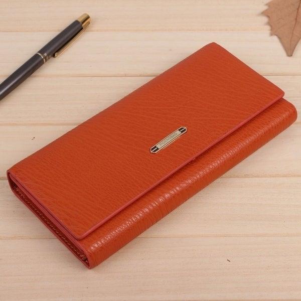 Fashion Women Wallets Tri-Fold Long Design Female  x27 S Retro Purse Clutch aa029b6406841