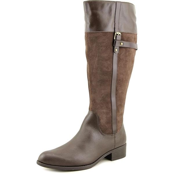 Easy Spirit Domina Wide Calf Women Round Toe Suede Knee High Boot