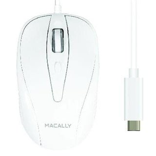 Macally Ucturbo 3 Button Optical Usb C Mouse