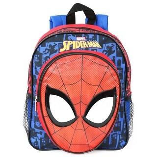 Marvel Boys Spider-Man Face Mini 12'' Backpack