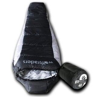 Wolftraders LoneWolf -20 Degree Fahrenheit Premium Ripstop Mummy Sleeping Bag with Xfil