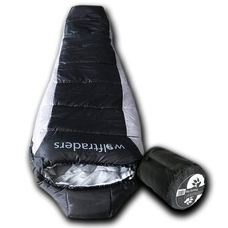 Wolftraders LoneWolf -20 Degree Fahrenheit Premium Ripstop Mummy Sleeping Bag with Xfil