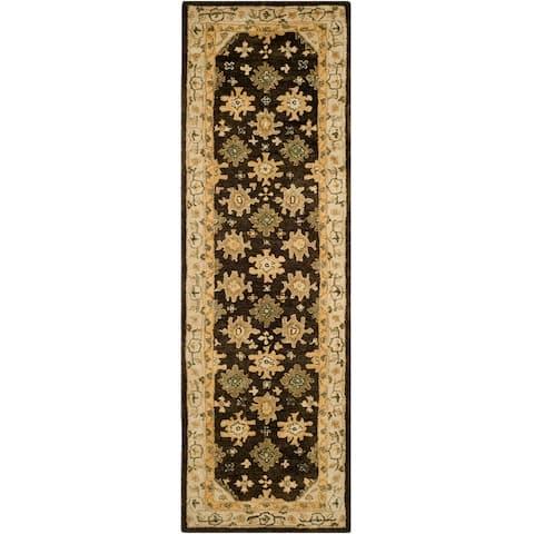 Safavieh Handmade Taj Mahal Bibine Traditional Oriental Wool Rug