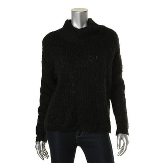 French Connection Womens Hester Pullover Sweater Knit Long Sleeves