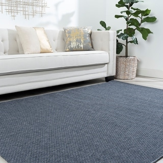 Alise Rugs Fairground Transitional Solid Area Rug