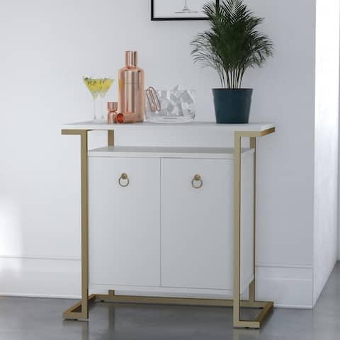 CosmoLiving by Cosmopolitan Camila Bar Cabinet