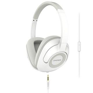 Koss UR42i Over Ear Headphones w/ Built-in Audio Splitter (White)