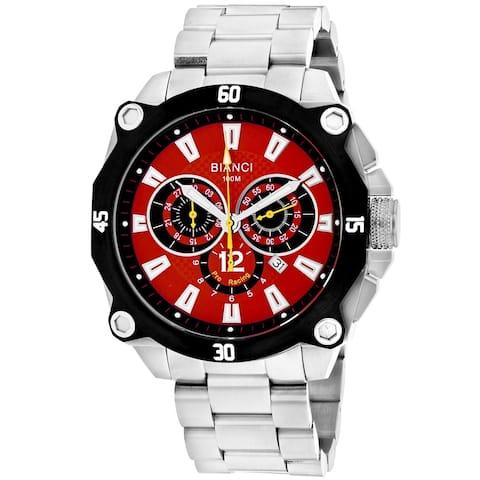 Roberto Bianci Men's Enzo Red Dial Watch - RB71010