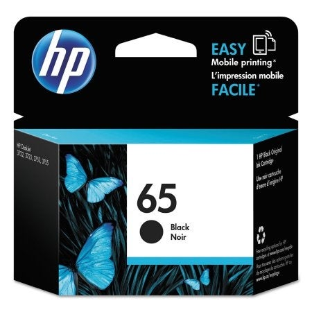 HP 65 (N9K02AN) Black Original Ink Cartridge