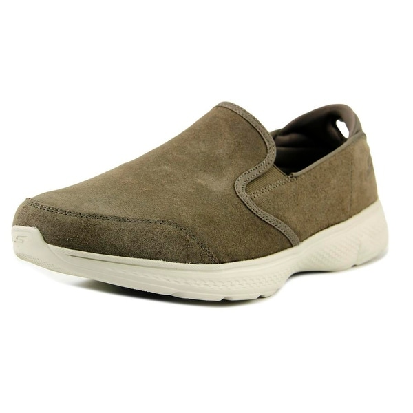 Skechers Go Walk 4 Deliver Taupe Sneakers Shoes