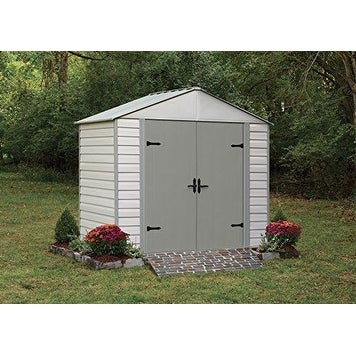 Arrow Viking Vinyl Coated Steel 8' W x 5' L Shed / VVCS85