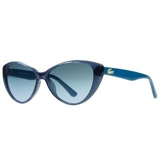 Lacoste L3602/S 424 Blue Cateye Sunglasses - 50-14-130