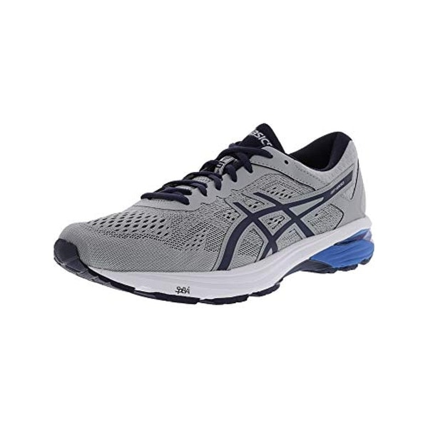 563012ec Asics Mens Gt-1000 6 Running Shoe, Mid Grey/Peacoat/Directoire Blue