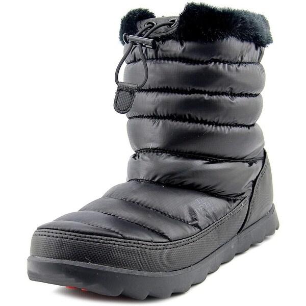 Women Black Snow Boot