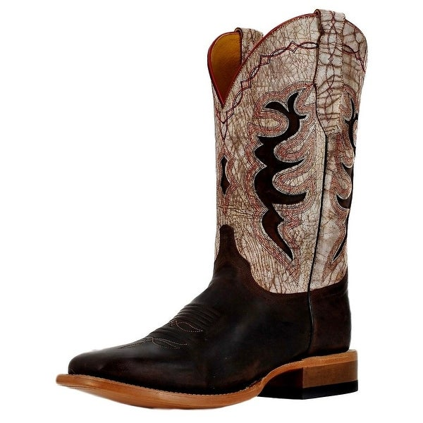 Cinch Western Boots Mens Cowboy Champion Square Toe Chocolate