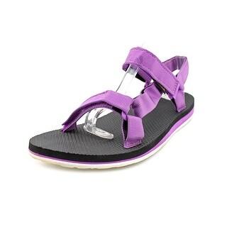 Teva Original Universal Women Open-Toe Canvas Purple Sport Sandal