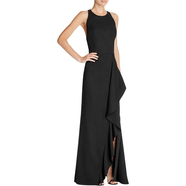 Shop Jarlo Womens Iona Evening Dress Crepe Open Back - Free Shipping On  Orders Over  45 - Overstock - 17671884 42b82e28ba