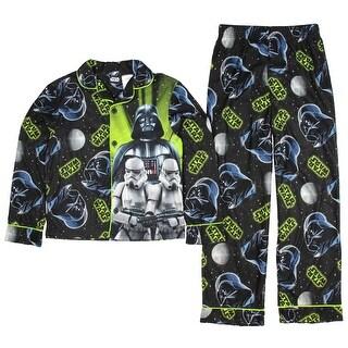 Star Wars Darth Vader Stormtrooper Flannel Coat Pajama Set