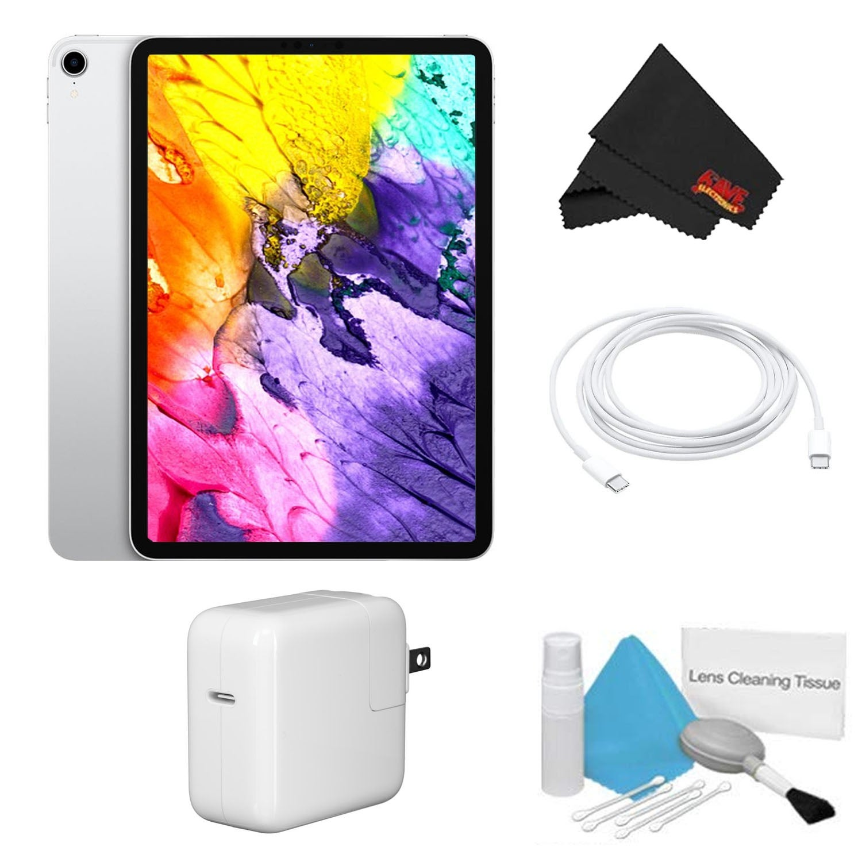 Apple 11 iPad Pro 64GB, Wi-Fi Only Bundle space gray advanced - 512 GB