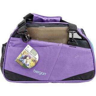 Bergan Voyager Comfort Carrier Large-Purple/Black