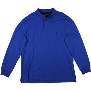 Nautica Mens Moisture Wicking Breathable Polo Shirt - XXL