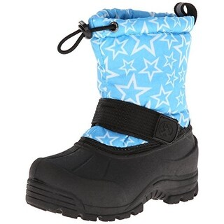 Northside Girls Frosty Snow Boots Toddler Canvas - 5 medium (b,m)