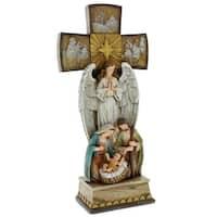 Cross Angel Nativity