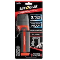 LIFE+GEAR BA38-60634-RED Storm Proof Pathlight, 150 lumens