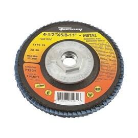 Forney 60Gr Blue Zir Flap Disc