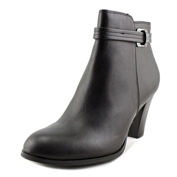 Giani Bernini Womens BAARI Leather Closed Toe Ankle Fashion Boots
