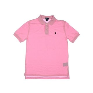 Polo Ralph Lauren Boys Pique Polo Shirt - M