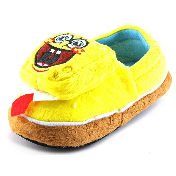 Nickelodeon Spongebob Sneaker Slipper Toddler Round Toe Synthetic Yellow Slipper