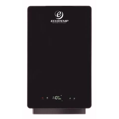 Eccotemp IE-18 2.5 GPM 18 Kilowatt Residential Tankless Water Heater - Black