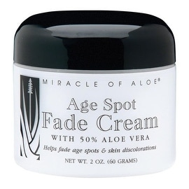 Miracle Of Aloe Age Spot Fade Cream 2 Oz.