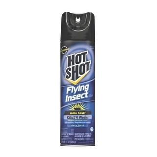 Hot Shot 5416 Flying Insect Killer Aerosol, 15 Oz
