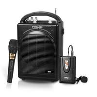 KV9617 Portable PA Speaker & Microphone System Kit & FM Stereo Radio