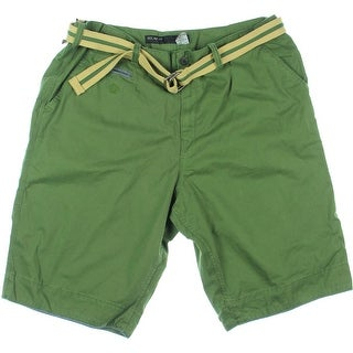 Rocawear Mens Volume 2 Twill Belted Bermuda, Walking Shorts - 42