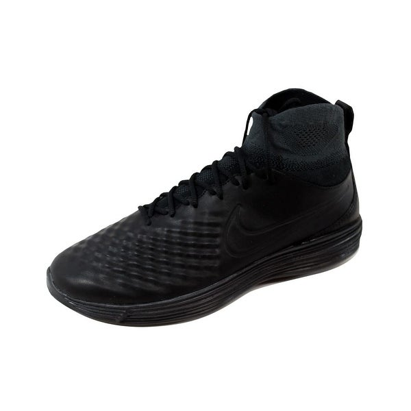 Nike Men's Lunar Magista II 2 Flyknit Black/Black-Anthracite-White 852614-001