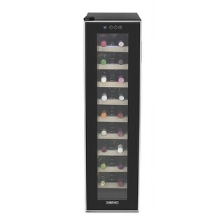 Cuisinart CWC-1800TS 18-bottle Private Reserve Wine Cellar, Black