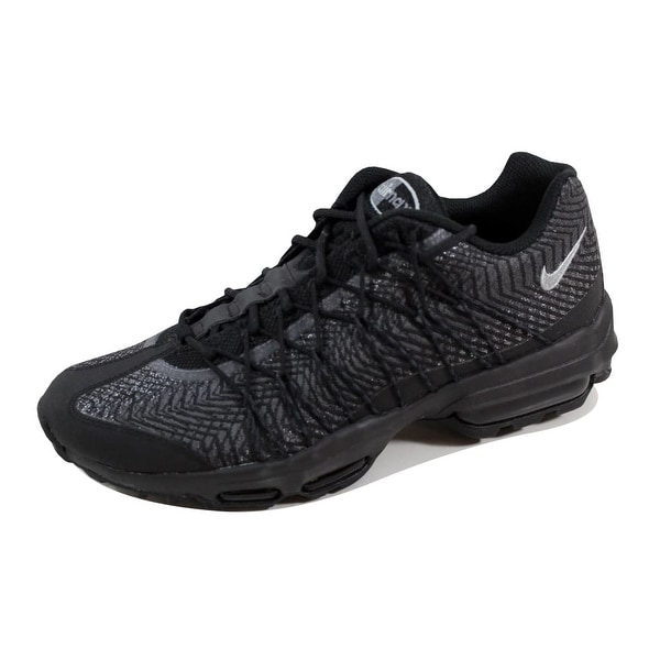 158b8f8b75 Shop Nike Men's Air Max 95 Ultra JCRD Black/Silver-Dark Grey-White ...