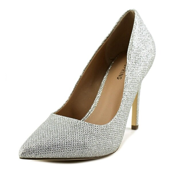 Call It Spring Agrirewiel Women Silver Pumps