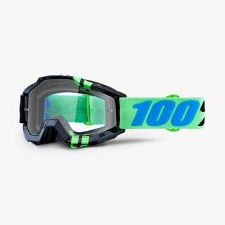 100% Percent Accuri Mountain Bicycle Goggle - Anti-Fog Clear Lens - 50200