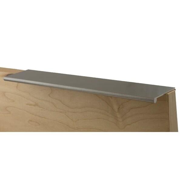 Berenson 1065 Bravo 9 1/16 Inch Long Finger Cabinet Pull