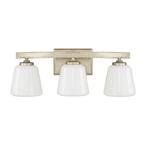 """Donny Osmond Home 8533-300 3 Light 20.75"""" Wide Bathroom Fixture from the Berkeley Collection"""