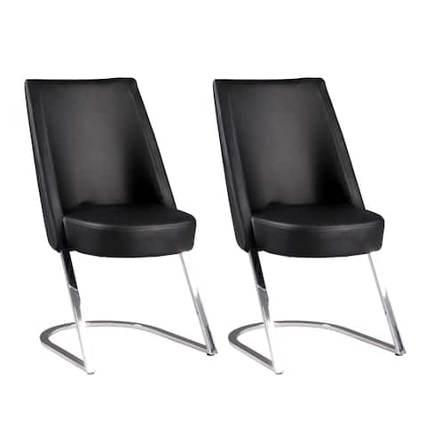 Somette Talia Slight Concave-Back Side Chair, Set of 2